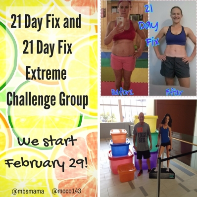 21 Day Fix or 21 Day FixExtremeCHALLENGEGROUP!